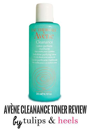 Reseña: Avène Cleanance Toner