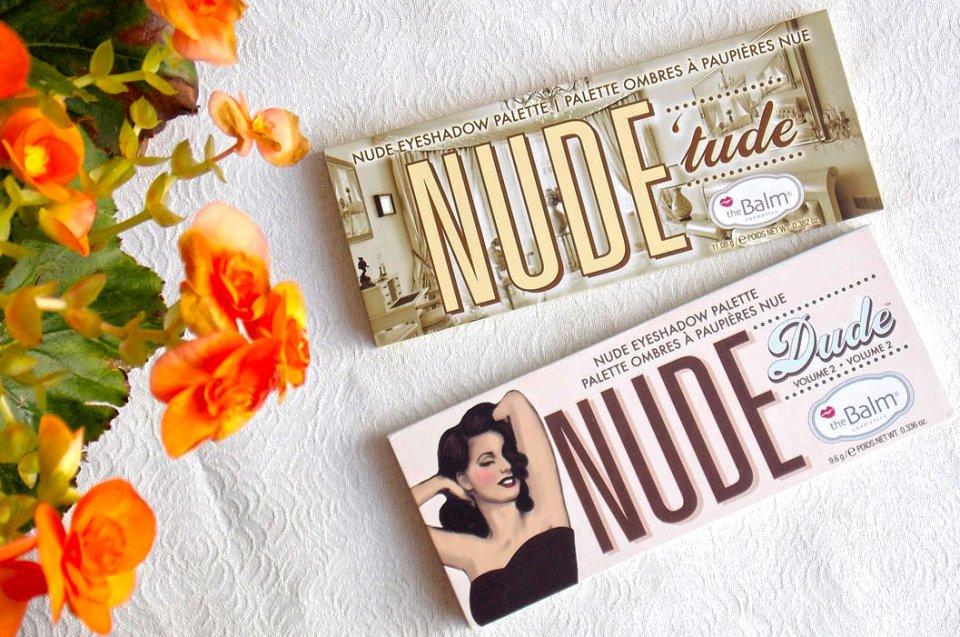 Reseña y comparación:paletas Nude 'tude y Nude Dude de theBalm
