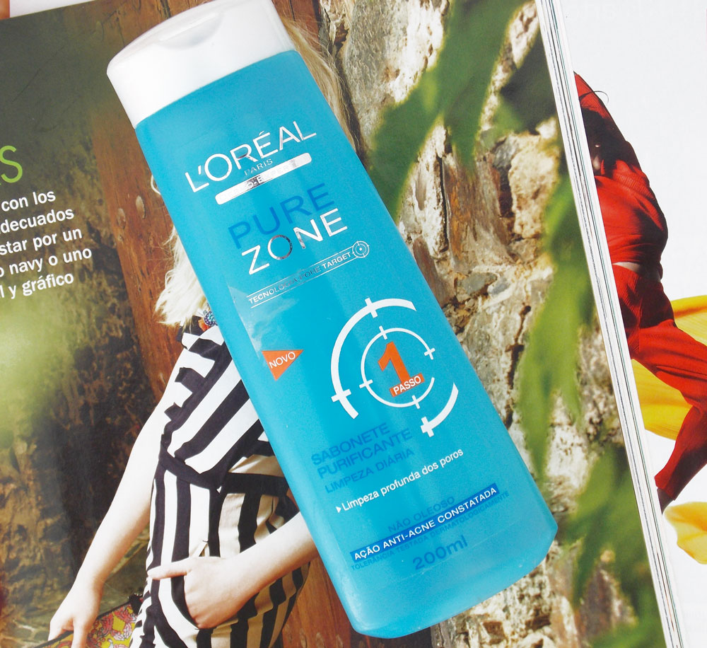 Resenha: L'oreal Pure Zone Sabonete Purificante de Limpeza Diária