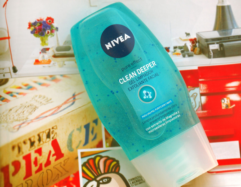 Testei: Nivea Clean Deeper Gel esfoliante