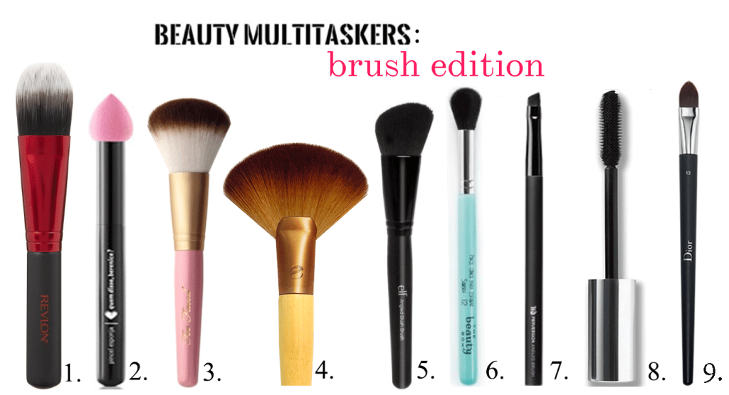 Beauty multitaskers: pinceís