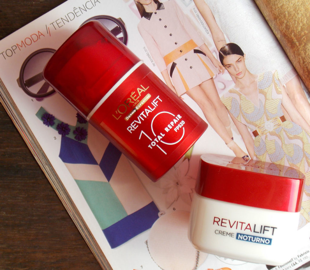 L'oreal Revitalift Total 10 Repair FPS 20 e Creme Noturno