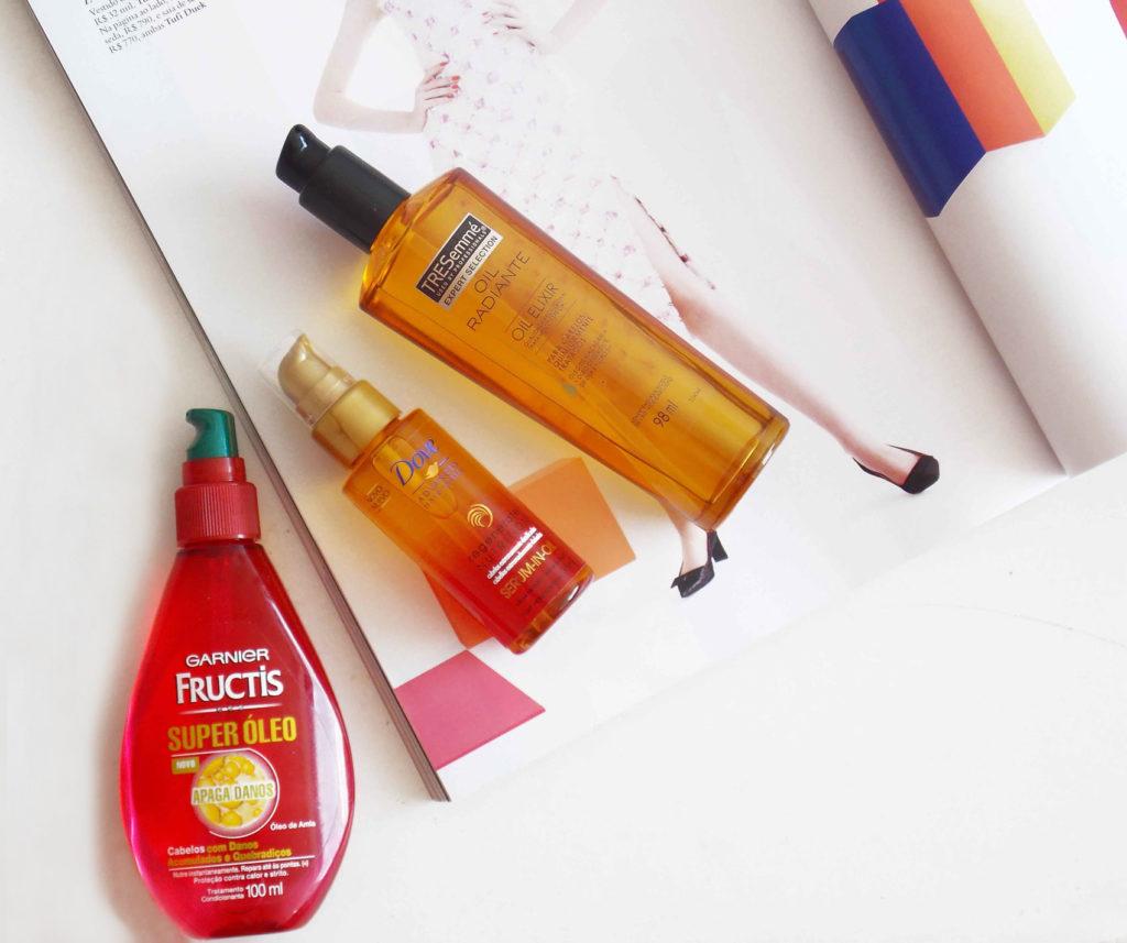 Beauty talk: óleos capilares