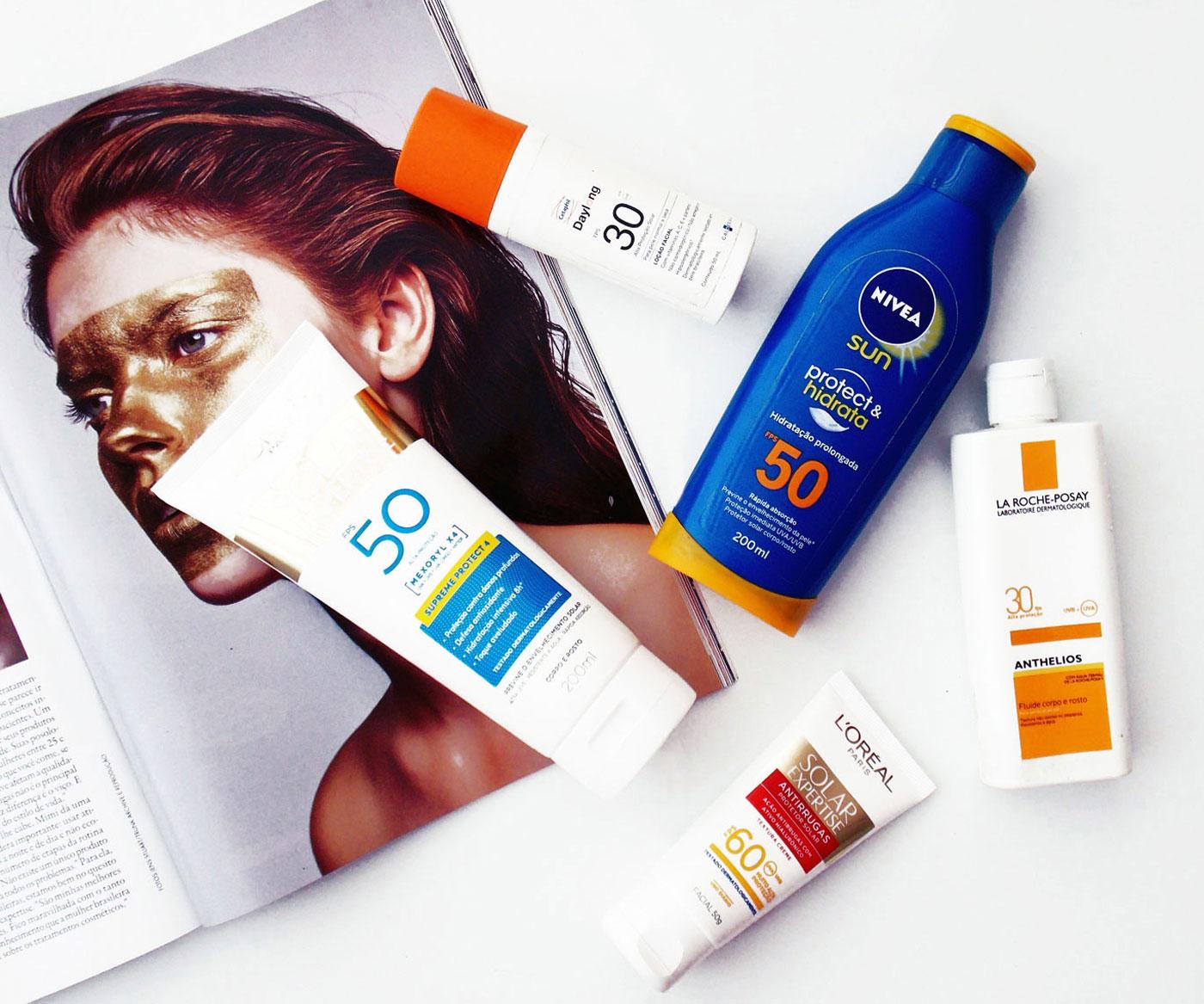 Maquiagem não é protetor solar e outras coisas que você precisa saber sobre o FPS