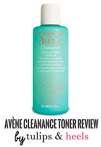 On the search for the perfect toner: Avène Cleanance Toner review