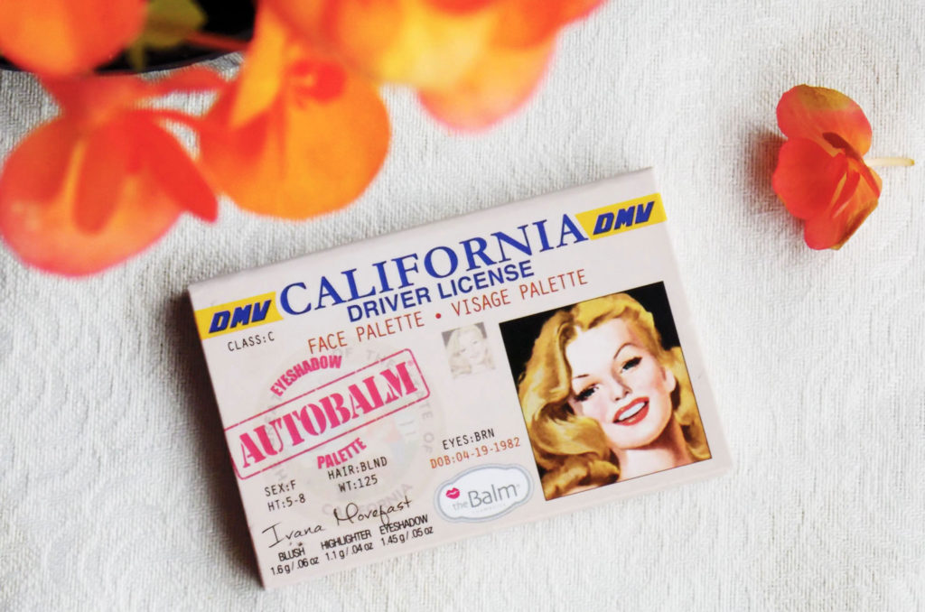 theBalm Autobalm California Face Palette Review