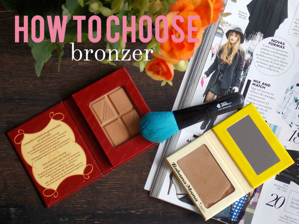 How to pick bronzer