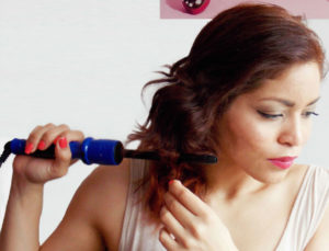 Curling-hair-routine-with-Irresistible-Me