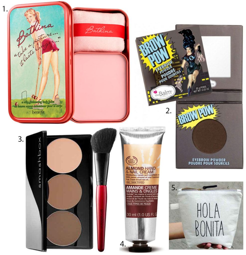 Budget friendly gifts: the beauty addict