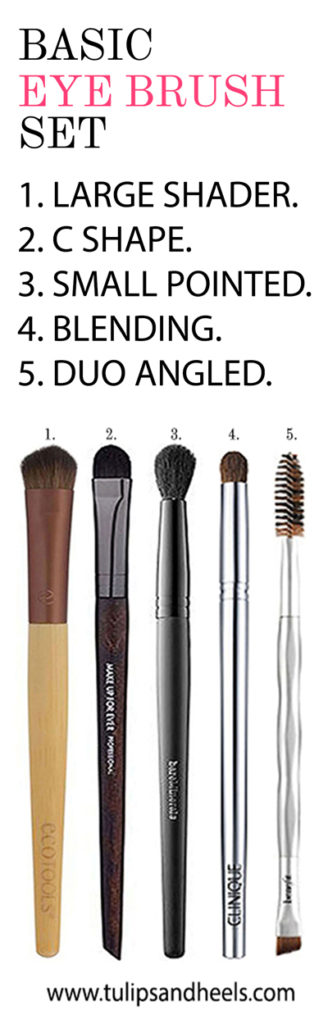 Build a Basic Eye Brush Set