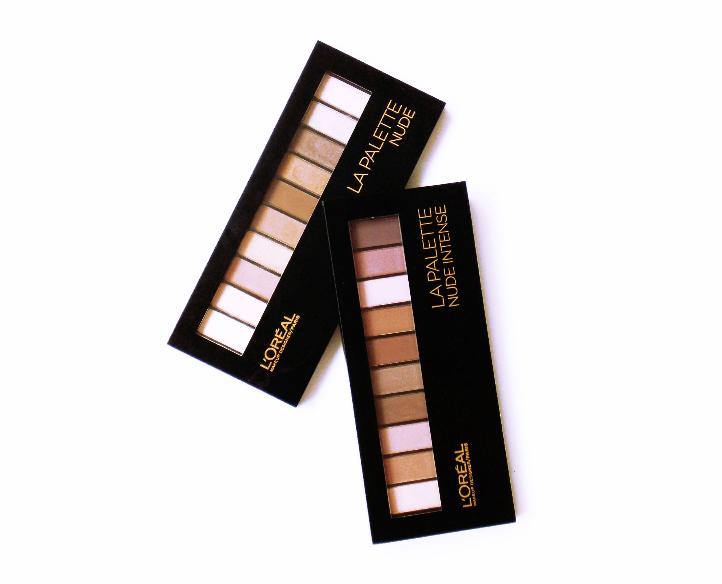 L'Oreal La Palette Nude 1 and 2 Review and Swatches