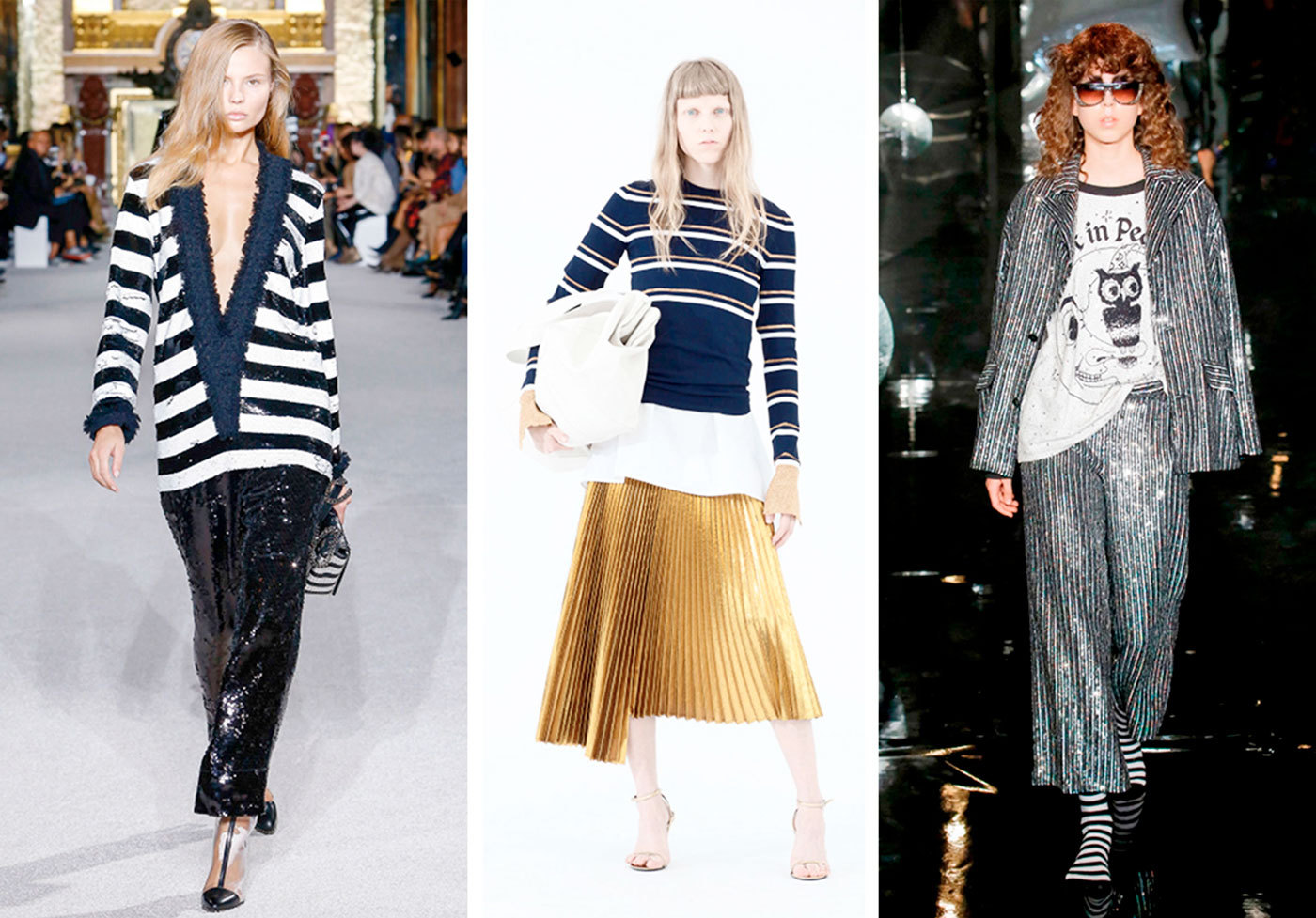 how to wear stripes now