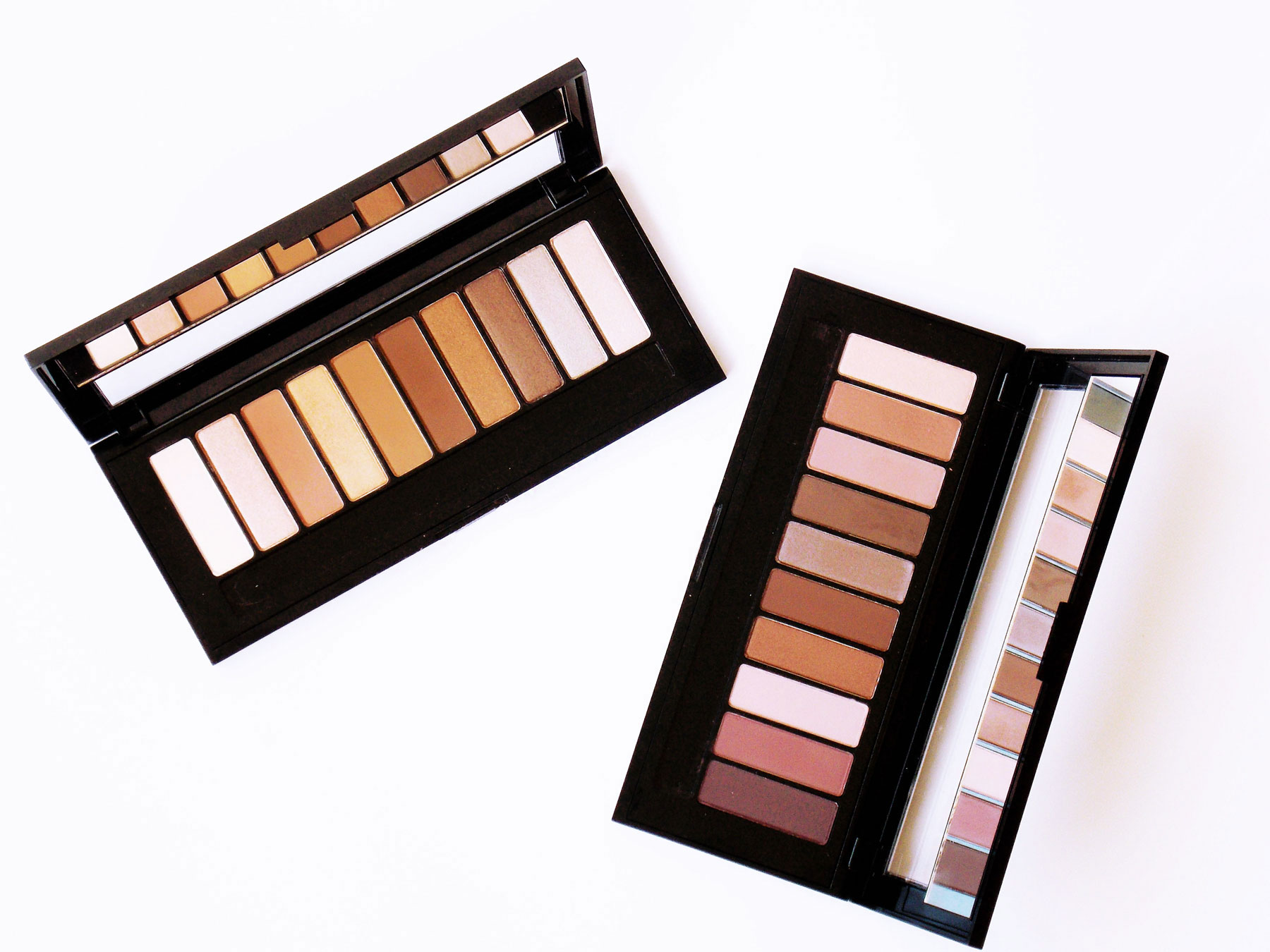 LOreal LA Palette Nude 1 and Nude 2 Review and Swatches